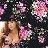 high quality hawaiian flower print fabric