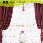 Jacquard curtain shaoxing fabric stripe design curtain fashion window curtain