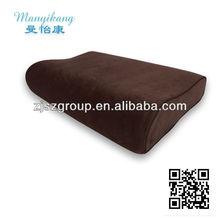 high quality bamboo charcoal orthopedic neck massage pillow