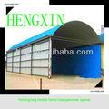 China de Heilongjiang de bajo costo barato y se venden bien estructura de acero de la fábrica / almacén / desprendimiento del taller