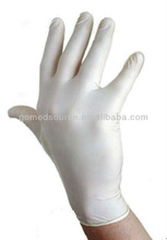 Medical foot model/ Latex Surgical Gloves