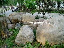 Natural river boulder stones