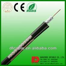 Colored PVC Coaxial Kable RG6 60% Braid