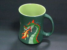 YF18018 3d animal design ceramic mugs