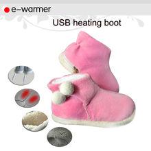 comodo e lavabile elettrico scaldapiedi pantofole f2507
