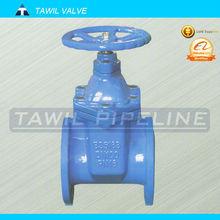 TAWIL Non-rising stem type gate valves
