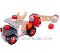 Nuevo estilo de madera de juguete del coche/bricolaje camión de bomberos