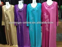 NY087 fashion four colors islamic women clothing kaftans jilbab MUSLIM ABAYA