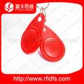 rojo llave rfid con chip t5577