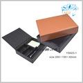 de moda de la pu de escritorio de cuero caja de almacenamiento organizador de escritorio