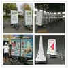 Economic mobile business advertising bike