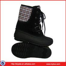 Lace up platform shoes mens winter boots