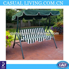 New Tortuga Cay 2 Person Canopy porch patio backyard Swing Durable steel Swing