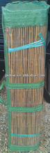 Galvanized Steel Wire Woven Carbonized Bamboo Fence
