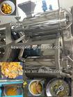 Industrial mango juice extractor
