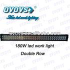 12V portable 180w led light bar car cree offroad light bar for trucks