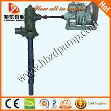 diesel engine deep well pump