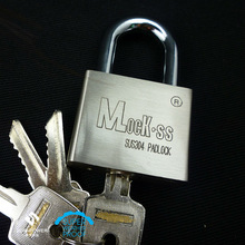Padlock in Construction & Real Estate With Hardened Steel Shackle