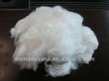 Angora type nylon 6 fiber