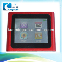 mp4 player with memory card 2013 hot sell 32gb touch screen mp4 player