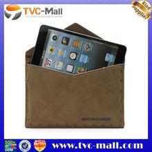 7 Tablet Envelope Postcard Leather Pouch Portfolio Case For iPad Mini