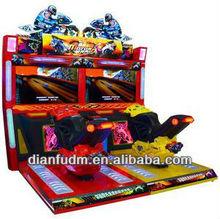 Arcade motor racing video game for teenagers DF-R040