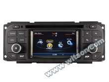 WITSON CHRYSLER Jeep Grand Cherokee car radio with gps with SD card for Music and Movie