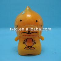 [TKTG] 9CM Plastic yellow doll