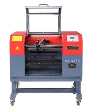 CO2 laser engraving machine with adornments in MDF(Baisheng-5030 with CE and FDA