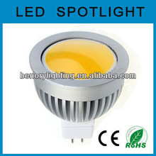 Indoor COB LED MR16 GU5.3 LED Bulbs,12VAC/DC, 4W