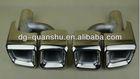 AMG titanium exhaust tips