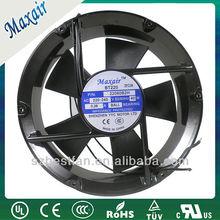 220mm ac axial fan, ac fan manufacture, ventilador axial ac