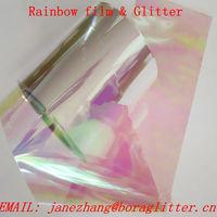 PET Rainbow Film, Magical Film, Iridescent Film