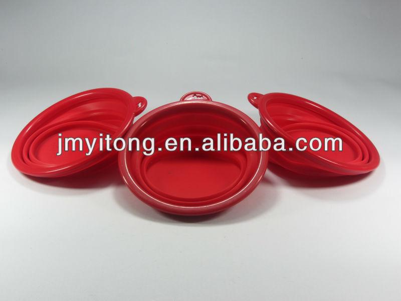 2013 new foldable travel dog bowl