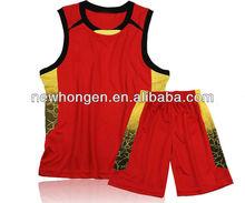 china sublimated basketball sports wear, basketball sports clothing manufacturer