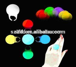 Led ring light,2014 Christmas Led finger ring glow light,7 Color LED flashing finger ring light for party decoration