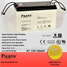 Electric car battery 12V100Ah