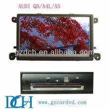 toyota lcd screen car dvd player for AUDI Q5/A4L/A5 WS-9213