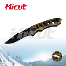 Cheap Black Coating Blade Liner Lock Folding Knife, Camping Knife With Clip