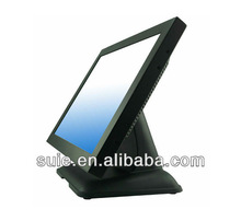 19inch TFT LCD touch screen display with metal case and good base