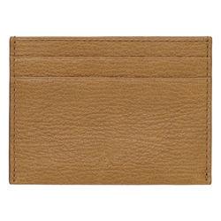 Natural Leather Credit Card Slip Wallet