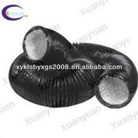 good quality black PVC aluminum Flexible Duct