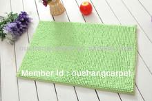 2014 fashion low microfiber chenille mat/carpet