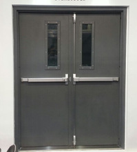 UL listed 3 hours Fire rated door with double leaf