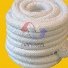 Ceramic fiber rope heat resistant gasket material