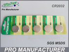 Button cell 3v cr2032 lithium battery