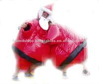 Enjoyable Santa Inflatable Fighting Sumo
