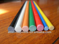 Pultrusion strong solid durable round Fiberglass Rod Stick