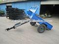 600 kg kleine bauernhof kultivator anhänger/mini traktor anhänger
