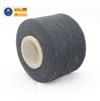 NE 21s 80 cotton and 20 polyester dyed recycled cotton yarn exported to Sri Lanka